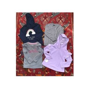 Other - Lot of Toddler 2-3 Year H&M Cat Jack Ruffle Shirts